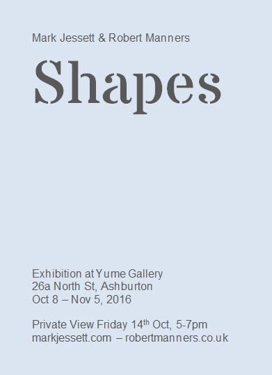 Shapes Exhibition Flyer